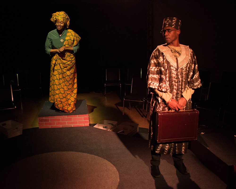 Nneoma Nkuku, Serge Thony  (Photo: Martha Granger)