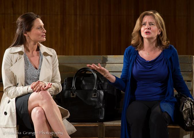 """Taglines"" - Ana Grosse, Joey Brenneman (Photo: Martha Granger)"