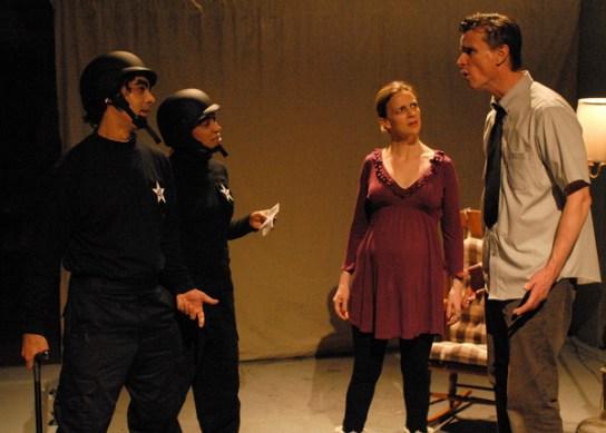 Jared Reinmuth, Nikaury Rodriguez, Tracie Higgins, Matt Higgins   (Photo: Martha Granger)