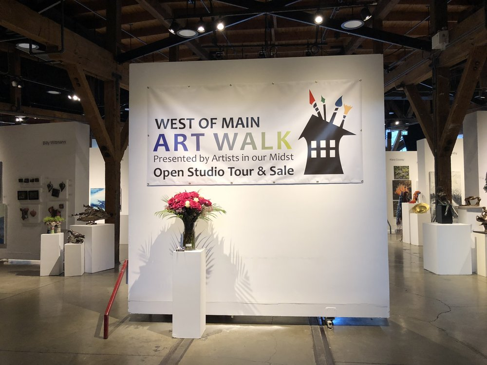 COME EXPLORE THE 2019 WEST OF MAIN ART WALK