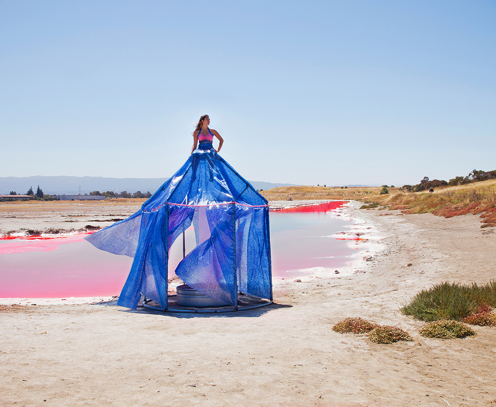 SALTY WATER: SOUTH BAY SALT FLATS DRESS TENT