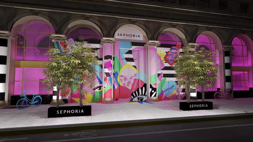 Copy of Sephoria - Front Of Venue