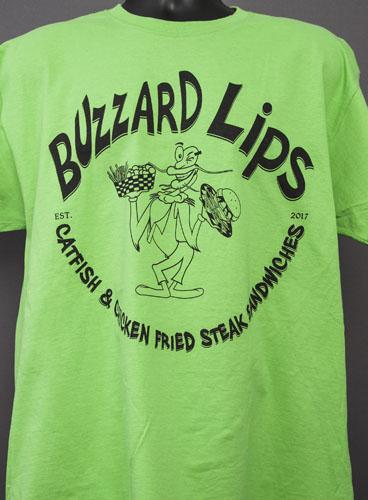 Buzzard Lips Green Shirt 2.jpg