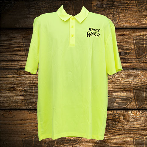 Smoke on the Water Neon Yellow Polo.jpg
