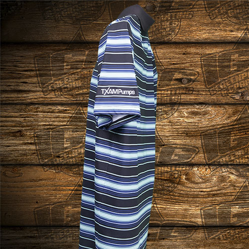 TXAMpumps Blue Stripes Polo Sleeve.jpg