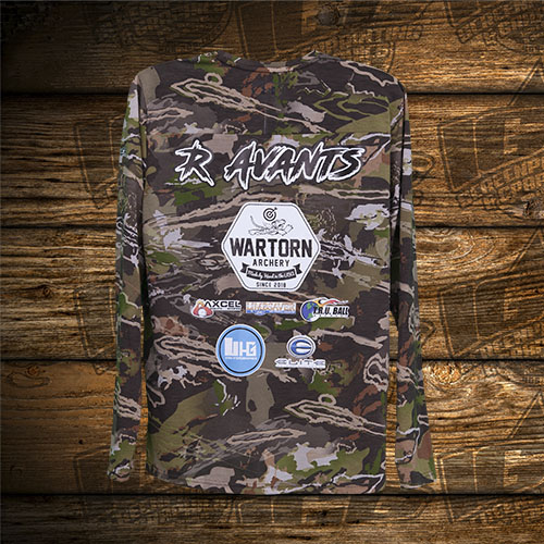 Avants Wartorn Archery Camo Shirt Back.jpg