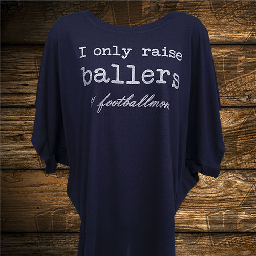 Ballers Football Mom Navy Shirt.jpg
