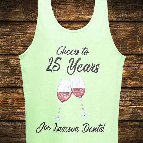 Joe Issacson Dental Green Tanktop Front.jpg