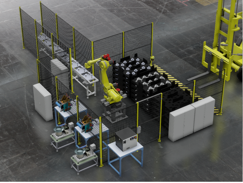 Figure 3. Fully automated process.