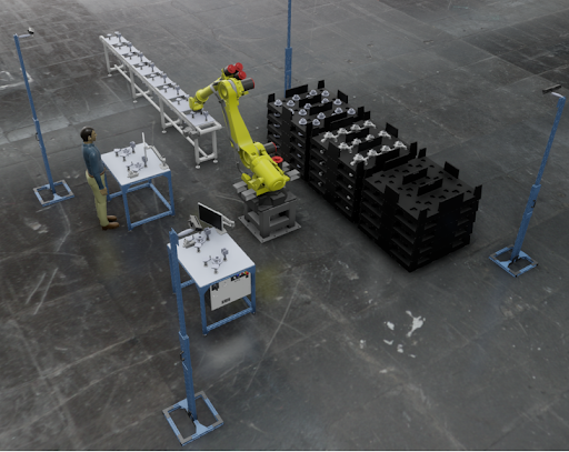 Figure 4. Human + robot process.