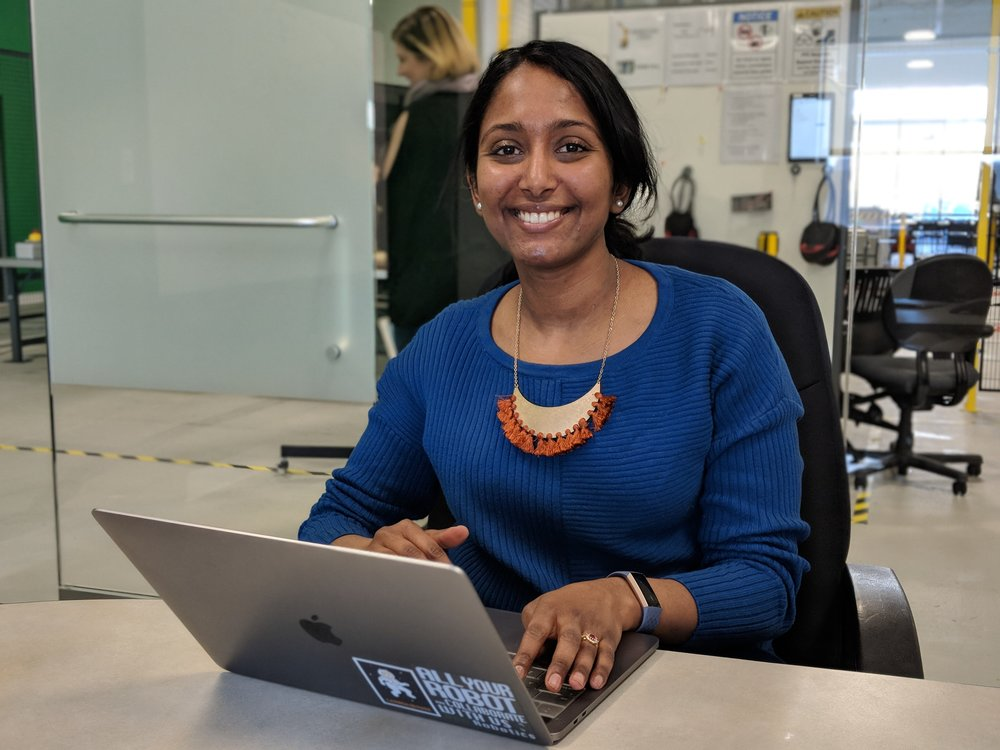 """Meet Meena - Meena Vembusubramanian is Veo's Director of Product Management. She is responsible for understanding both the challenges our customers face and what is technically feasible for our team to accomplish—and then merging the two into a product that does not break time, physics, or the bank.""""It's one thing when you have an existing product—customers are open to incremental changes as you build and improve on it. But doing everything from scratch with a product that is very new is both exciting and challenging."""""""