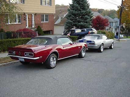 1968 Chevrolet Camaro SS Convertible — Octane Film Cars