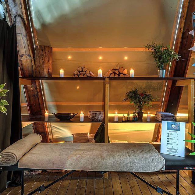 Nyt en avslappende klassisk massasje i vårt MiniSpa! #minispanordic #saltartmusic #visitoslo #massasjeoslo