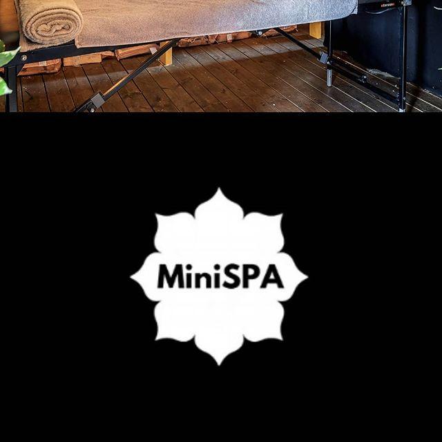 MiniSPA er på SALT og gir deg en avslappende massasje i Nordens største Sauna! @saltartmusic @minispanordic