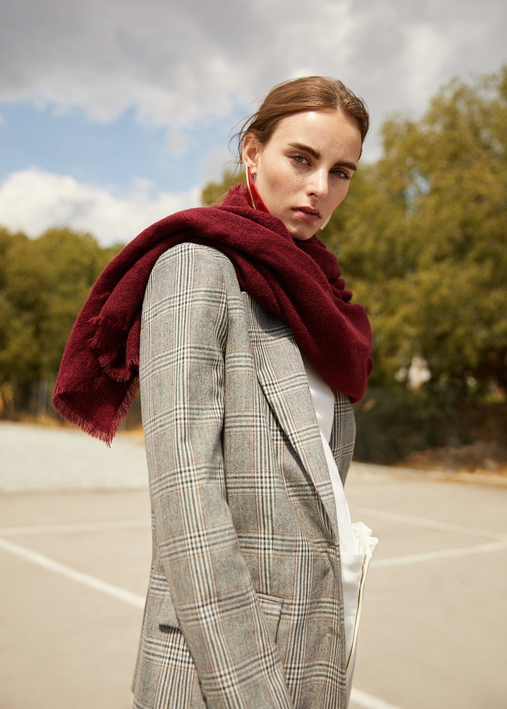 5. the frayed one - MANGO: Frayed Edge Scarf, £19.99Keep it simple with this single colour scarf from Mango. With frayed edge detail, this versatile piece will quickly become your new staple accessory.