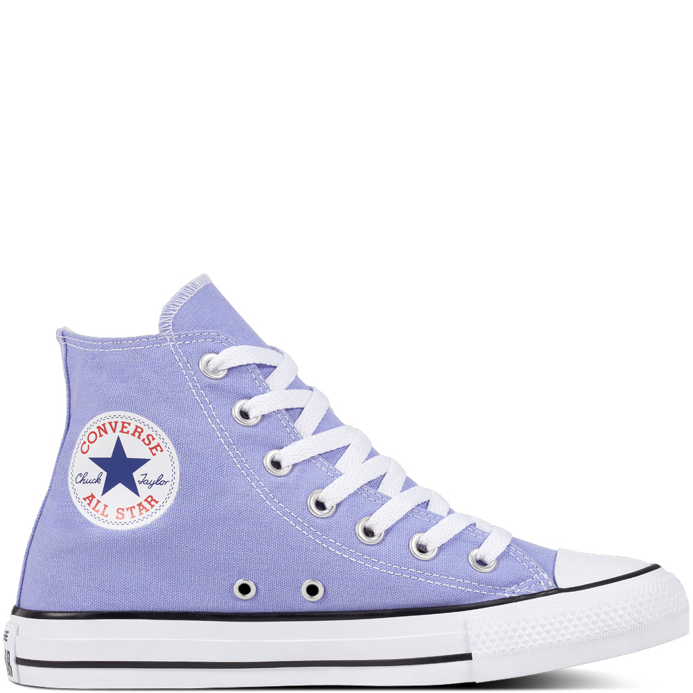 5. THE KICKS - CONVERSE: Chuck Taylor All Star Classic, £55A summery twist on the classic Converse, these are bound to add an easy pop of colour to any outfit. They also come in pastel pink and blue!