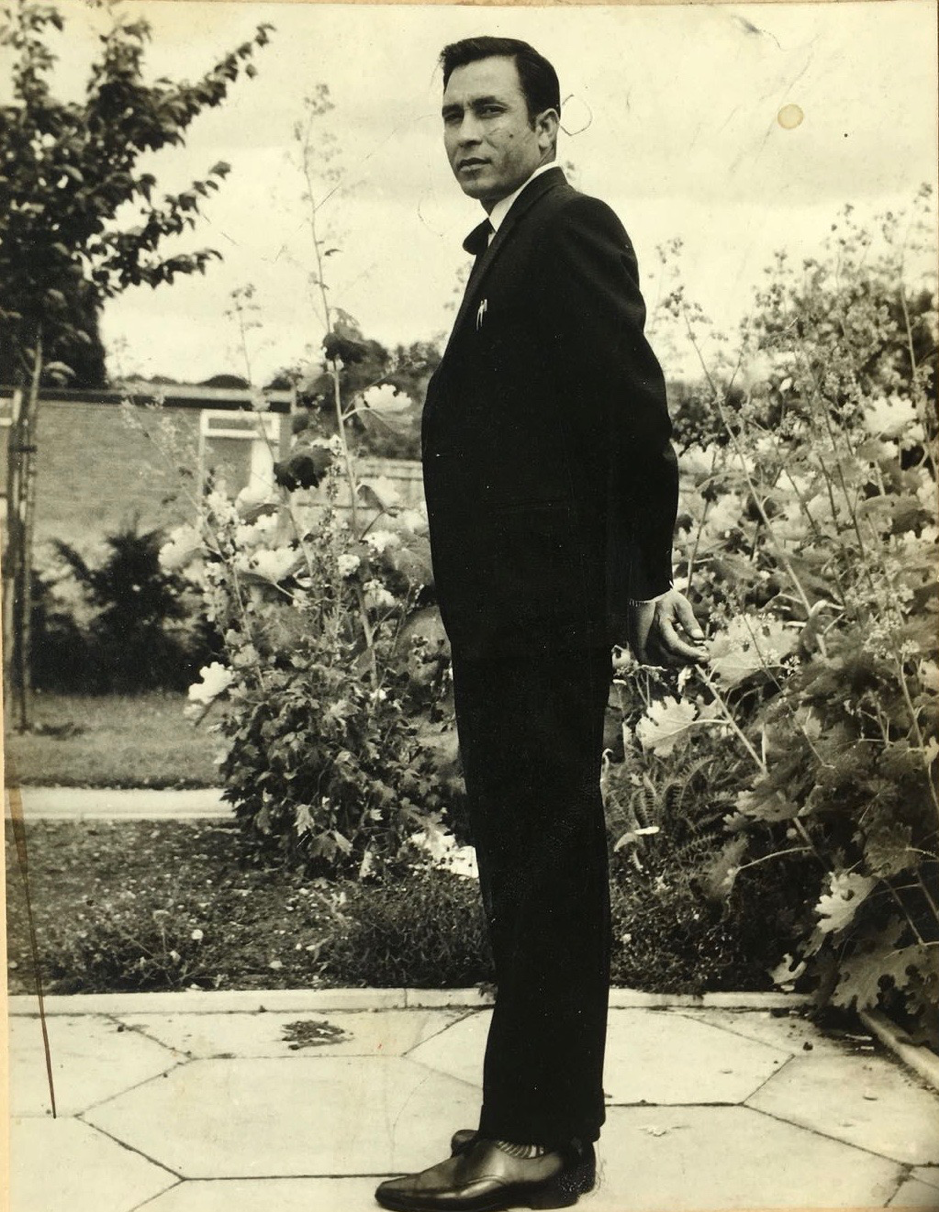 Writer's grandfather, pictured in 1965