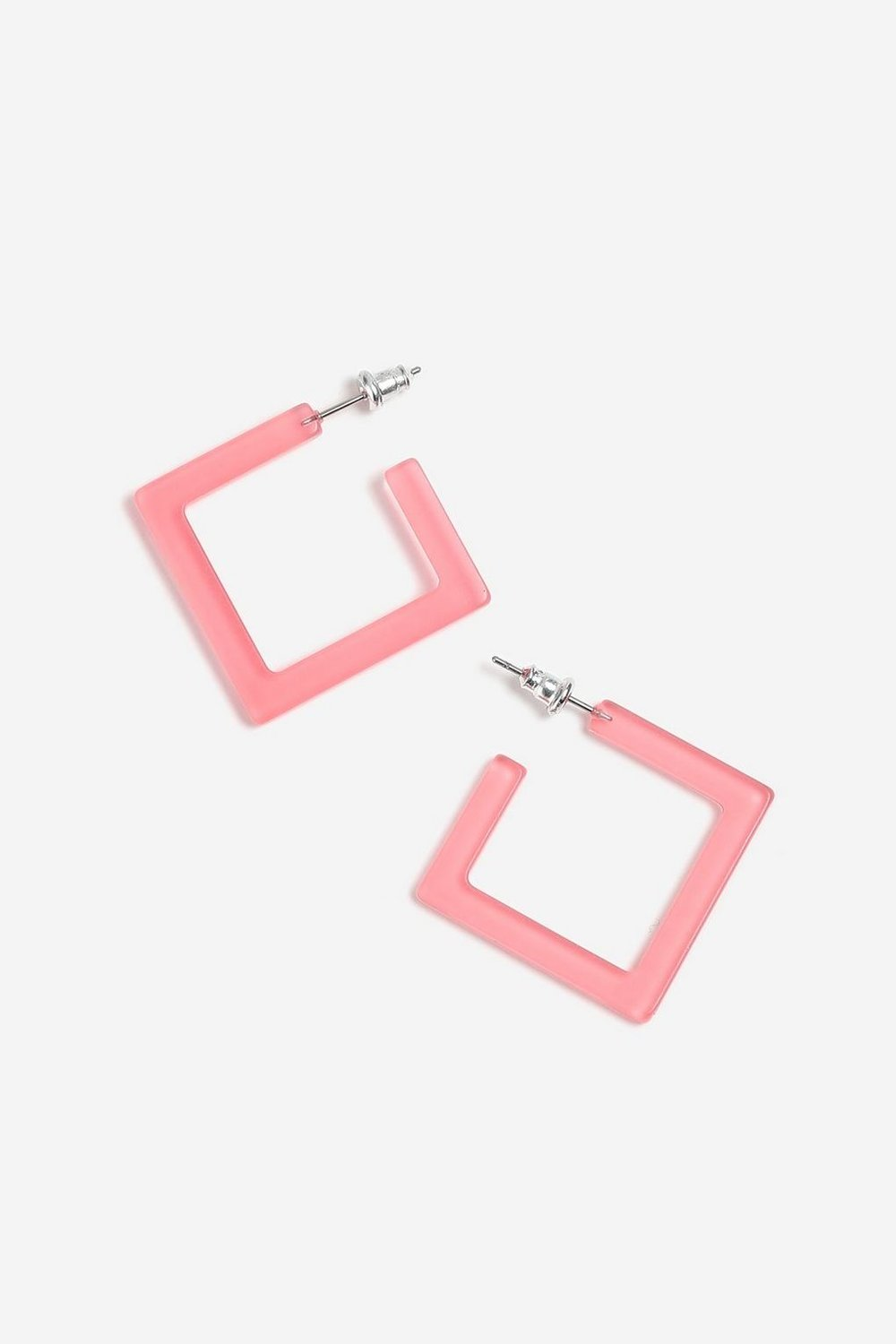 4. the EARRINGS - TOPSHOP: Plastic Square Hoop Earrings, £6.50We at PHASER are huge fans of statement earrings, and these are a great and simple way to incorporate the pastel trend into your look.