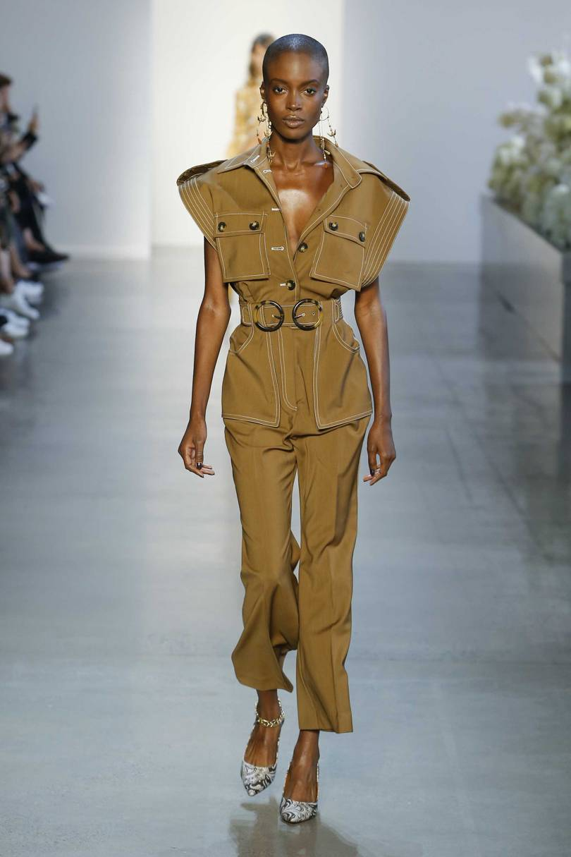 6. zimmerman - Effortlessly chic with a colour story close to perfection. This might just be my favourite NYFW look.
