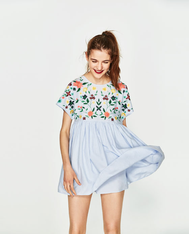 3. THE PLAYSUIT - Want the perfect summer dress but not sure about leaving the shorts behind? This playful twist on the classic playsuit is perfect; we're loving the bow detail on the back!