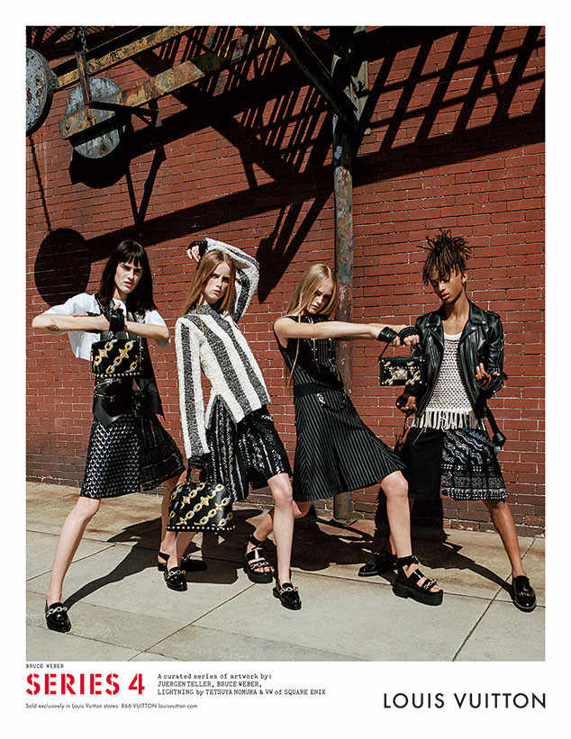 SOURCE:  http://www.eonline.com/news/727947/jaden-smith-models-skirt-for-louis-vuitton-campaign-why-the-brand-chose-him