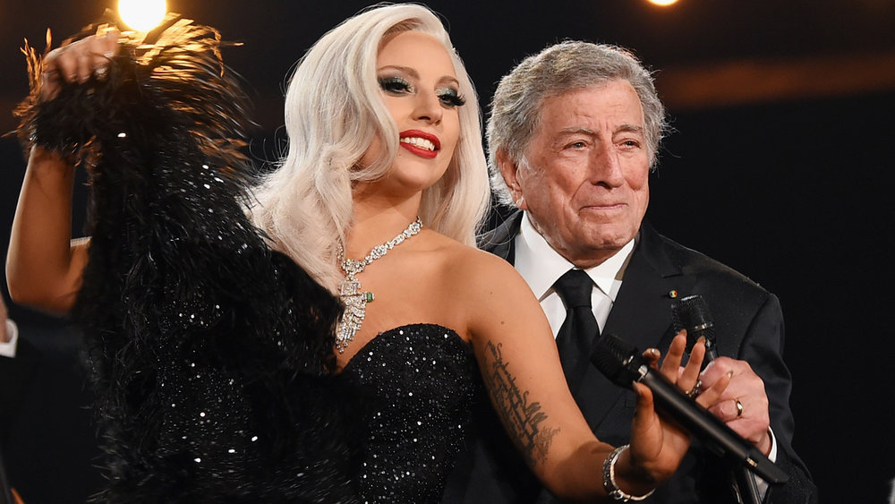 SOURCE:  http://www.etonline.com/tv/205608_lady_gaga_calls_tony_bennett_family_during_star_studded_90th_birthday_concert_you_really_changed_my_life
