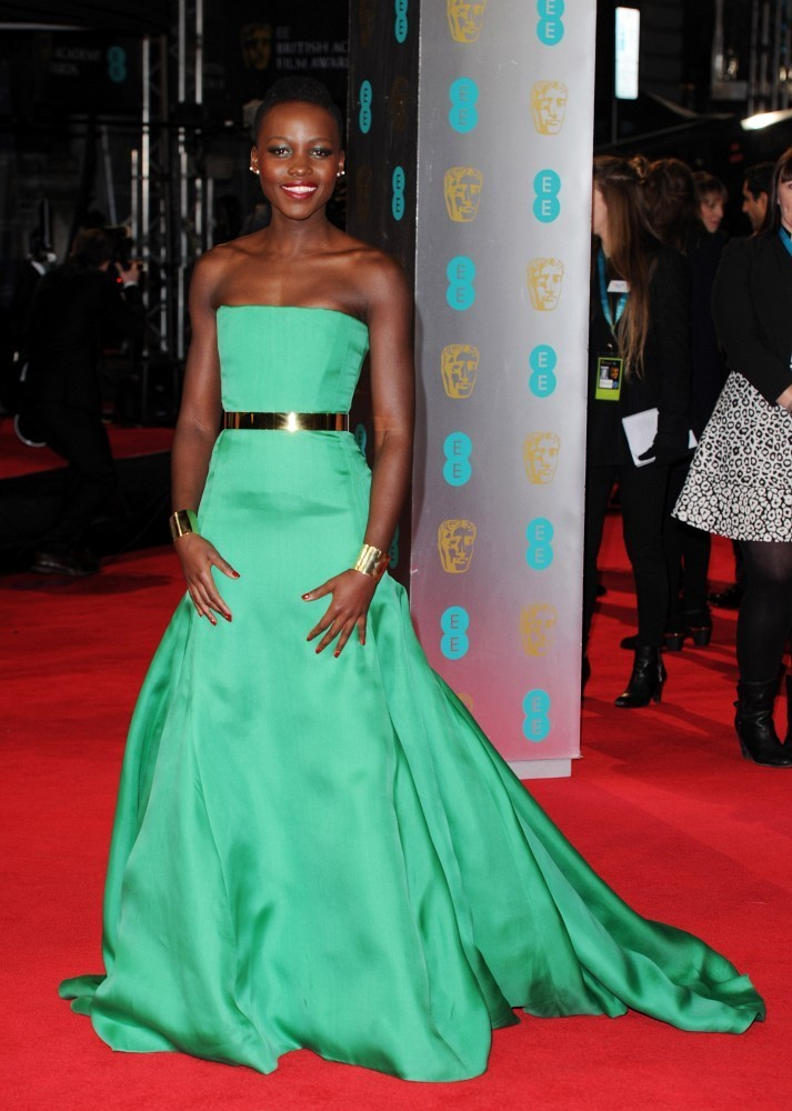 SOURCE:  http://www.stylebistro.com/BAFTA+Awards+2014+-+Best+Worst+Dressed/articles/f1Z4bunFuUG/Lupita+Nyong+o+Christian+Dior+Couture