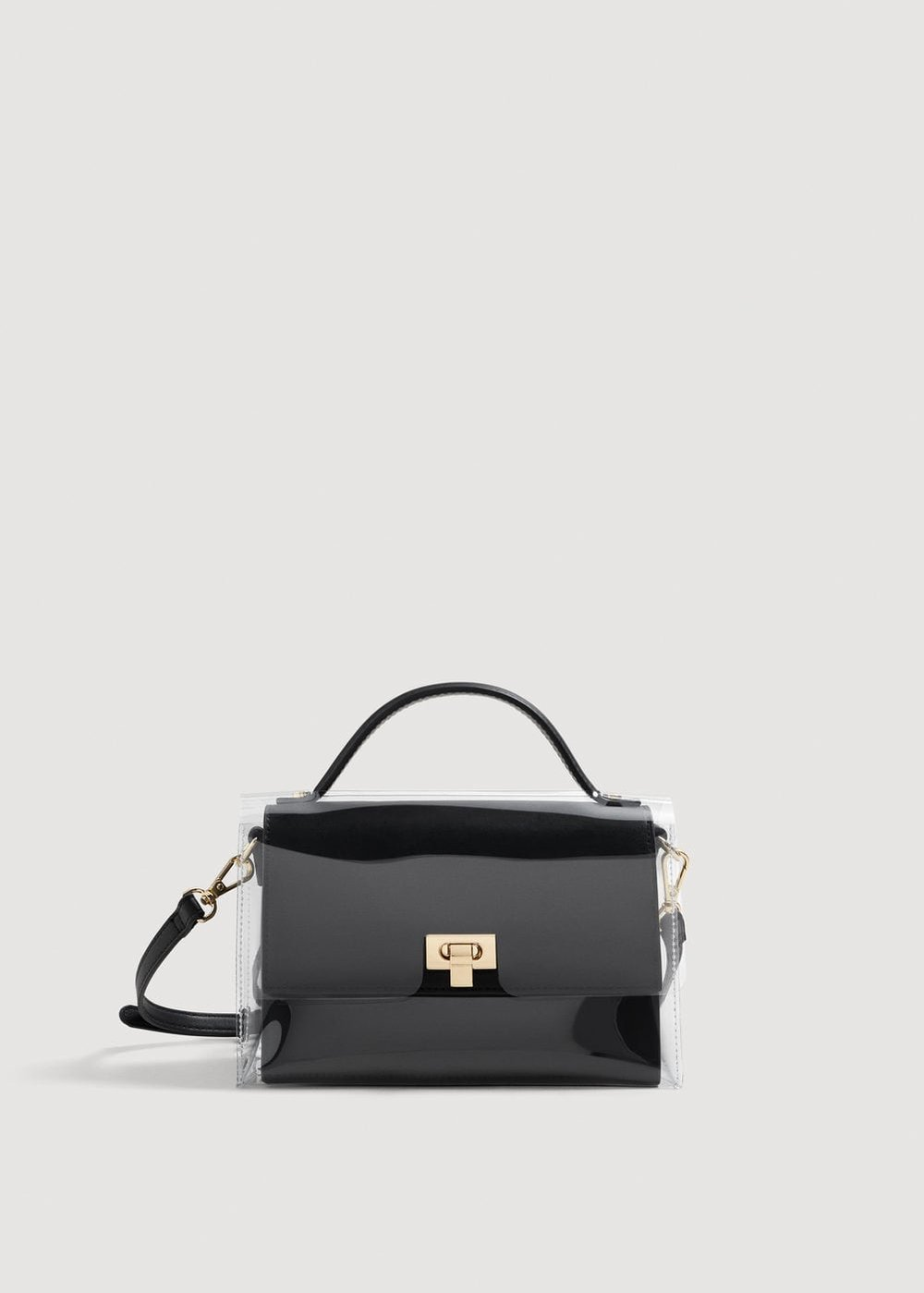 3. the bag - MANGO: Vinyl Cover Bag, £29.99Mango is the place to look for vinyl bags, and we absolutely love this mini satchel; the vinyl covering is detachable so you can change up your look.