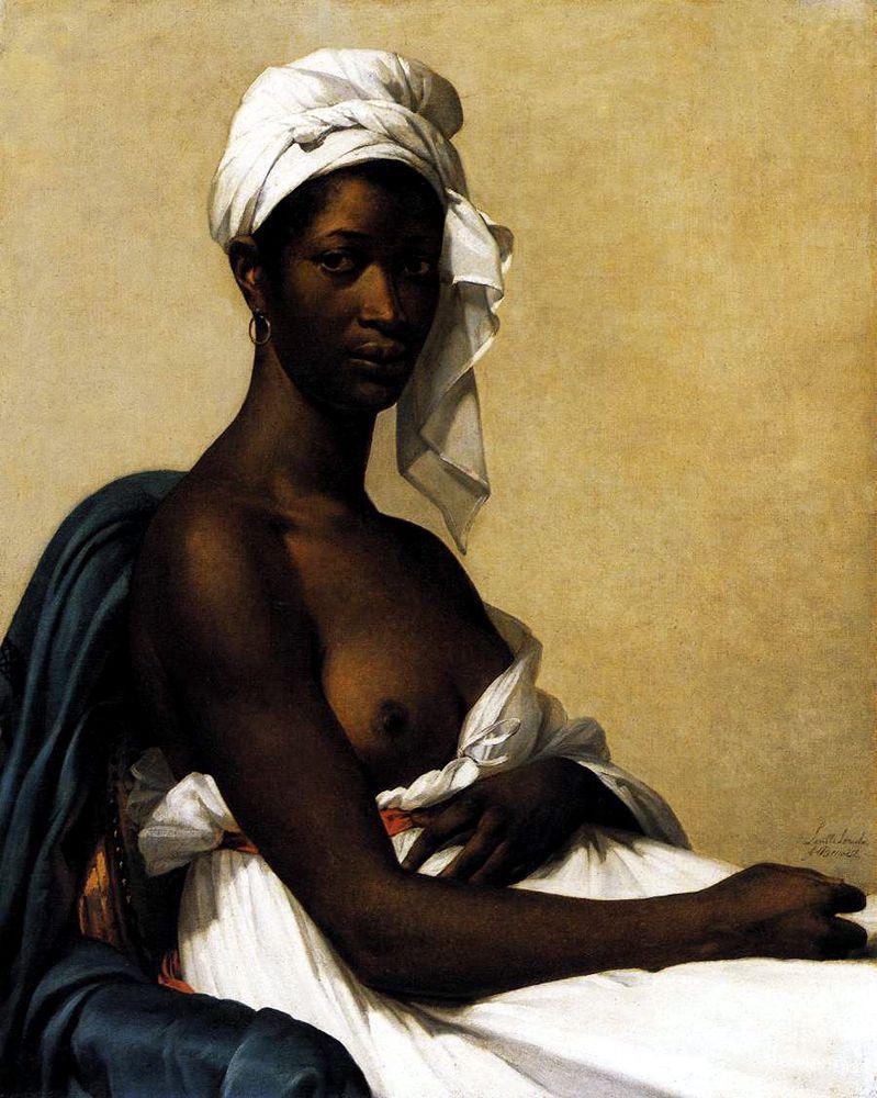 Marie Benoist's 'Portrait d'une négresse' (1800)  Image credit