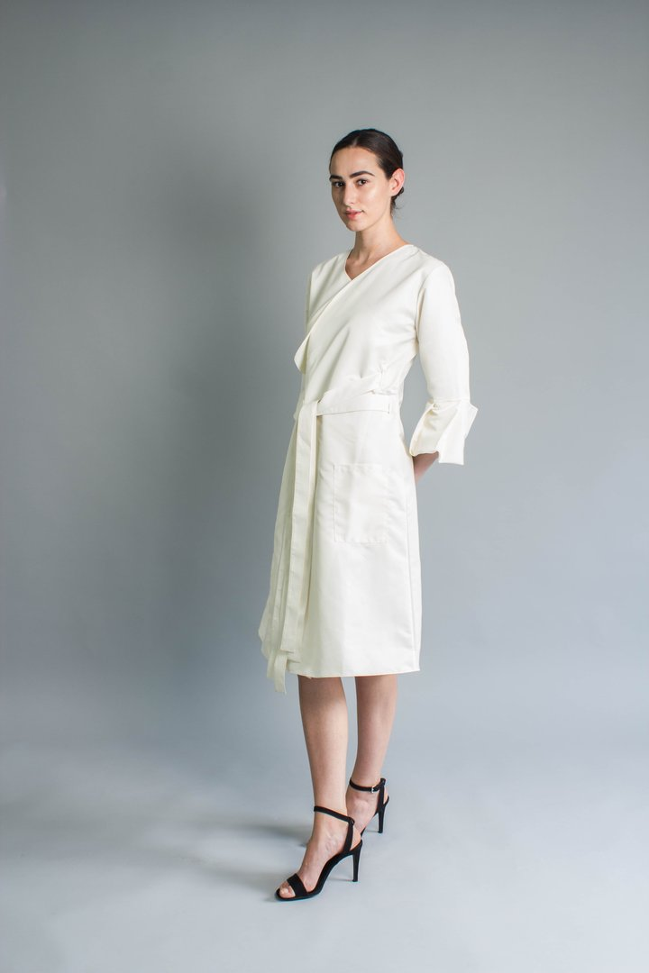 Trench Coat from the AW18/19 collection 'Stillness'   Image Credit