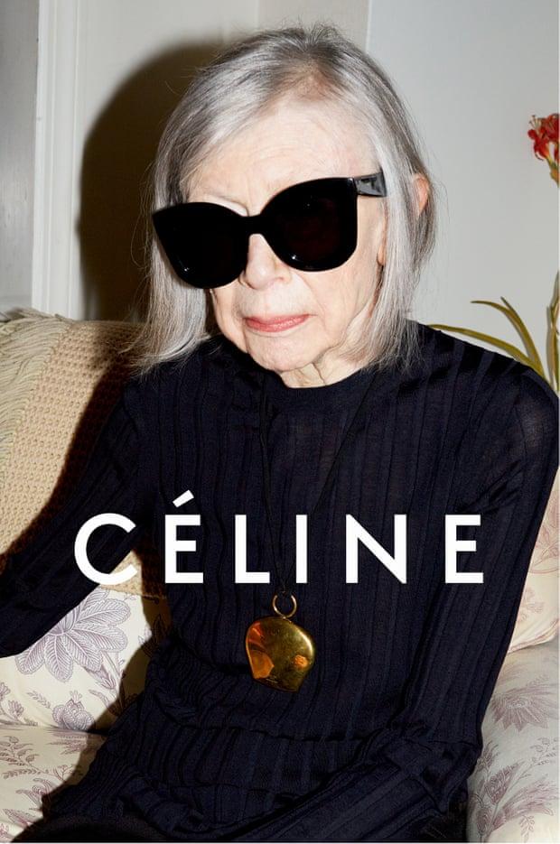 CELINE'S campaign featuring Didion   Image credit