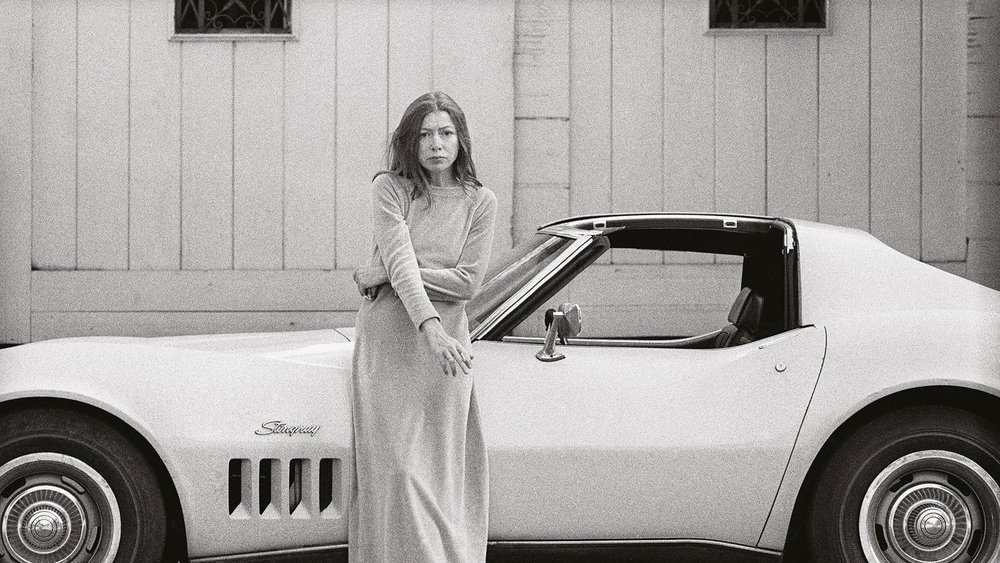 Didion photographed for TIME   Image Credit