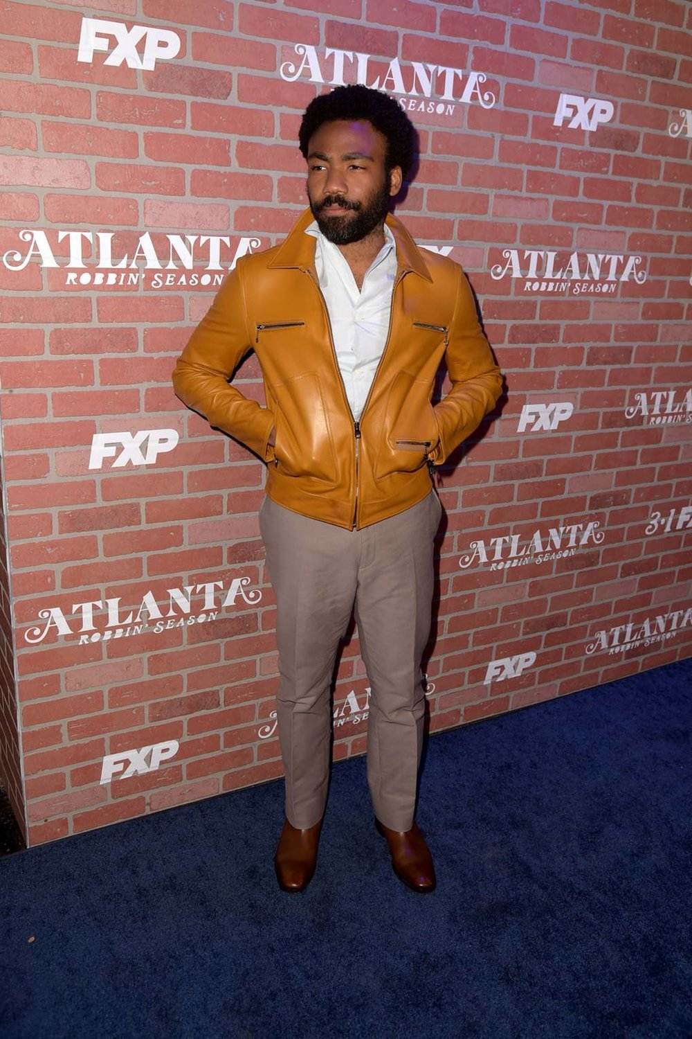 Channeling the 70s at the series premiere of 'Atlanta' season 2   Image Credit