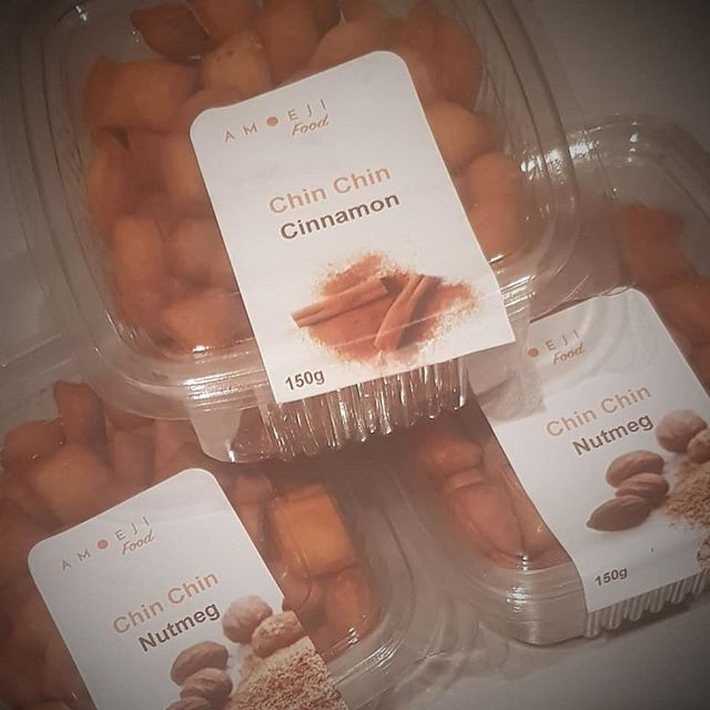 Happy Sunday everyone.  Had a busy morning fulfilling orders. What are you upto?  Why don't you try our different flavours of chin-chin as a delicious afternoon snack? Order your chin chin now. Repost, Retweet, Share and turn your notifications on. Visit www.amoejifood.co.uk, DM us or text us. . . . #amoejifood #chinchin #worldwidedelivery #amoeji #yummy #delicious #crunchy #wontbreakyourteeth #smallchops #foodie #snackmeal #snacktime #chopchop #snackfood #chinchilla #snackbox