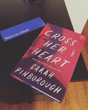 Cross Her Heart by Sarah Pinborough — RUBY AZHAR