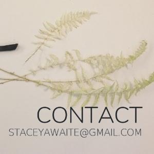 Contac t  staceyawaite@gmail.com