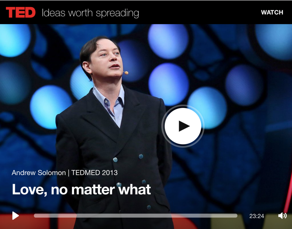 Love, No Matter What Andrew Solomon