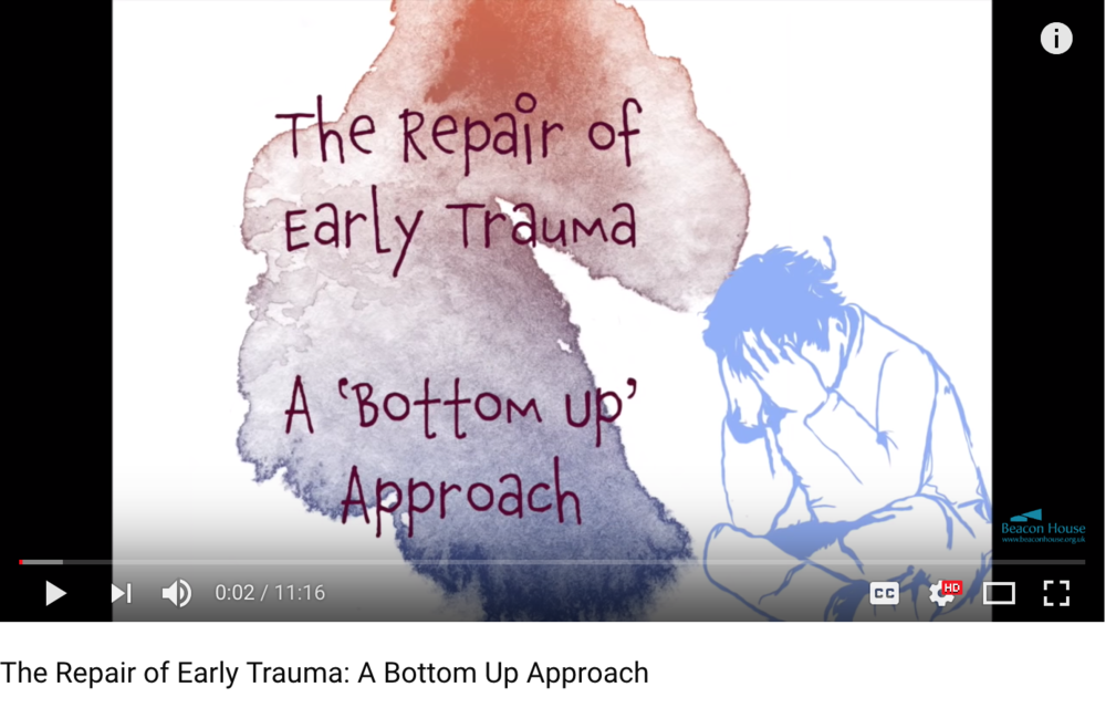 The Repair of Early Trauma A Bottom Up Approach