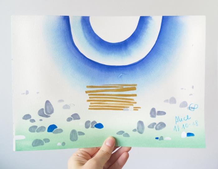 The bright works project post - alice, art by gosia poraj
