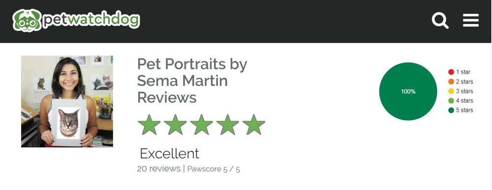 pet portraits by sema martin pet watch dog reviews