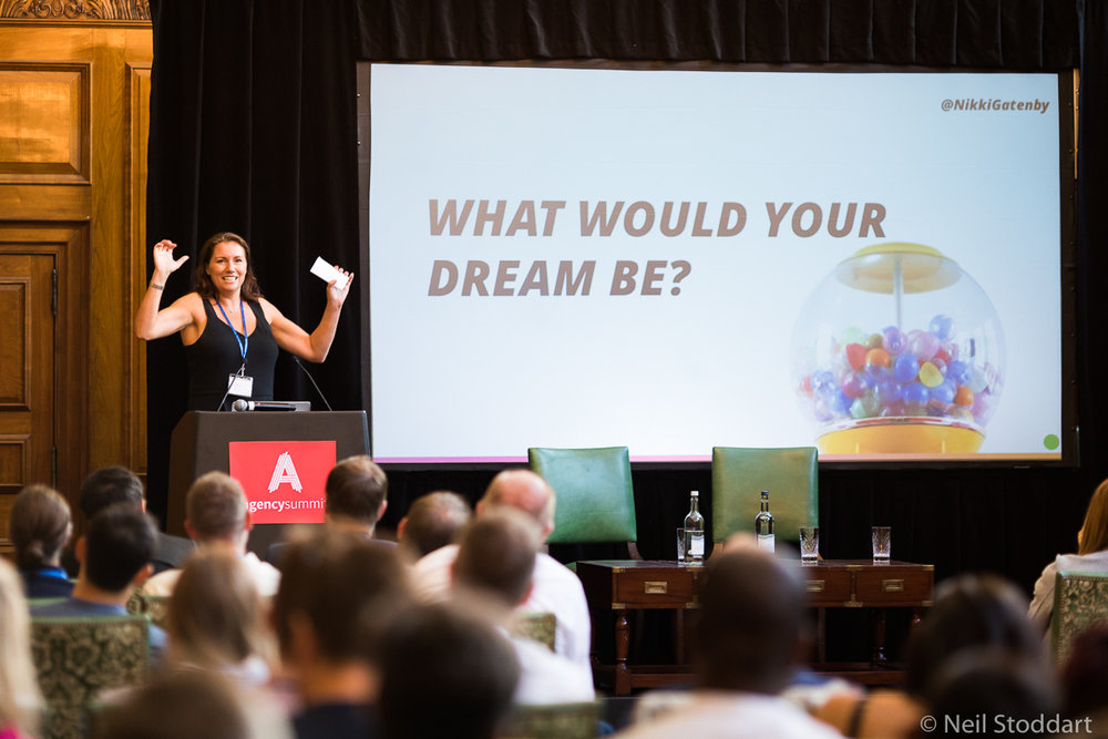 Agency Summit lets you fuel your enthusiasm and share your wisdom with 100 other agency leaders.