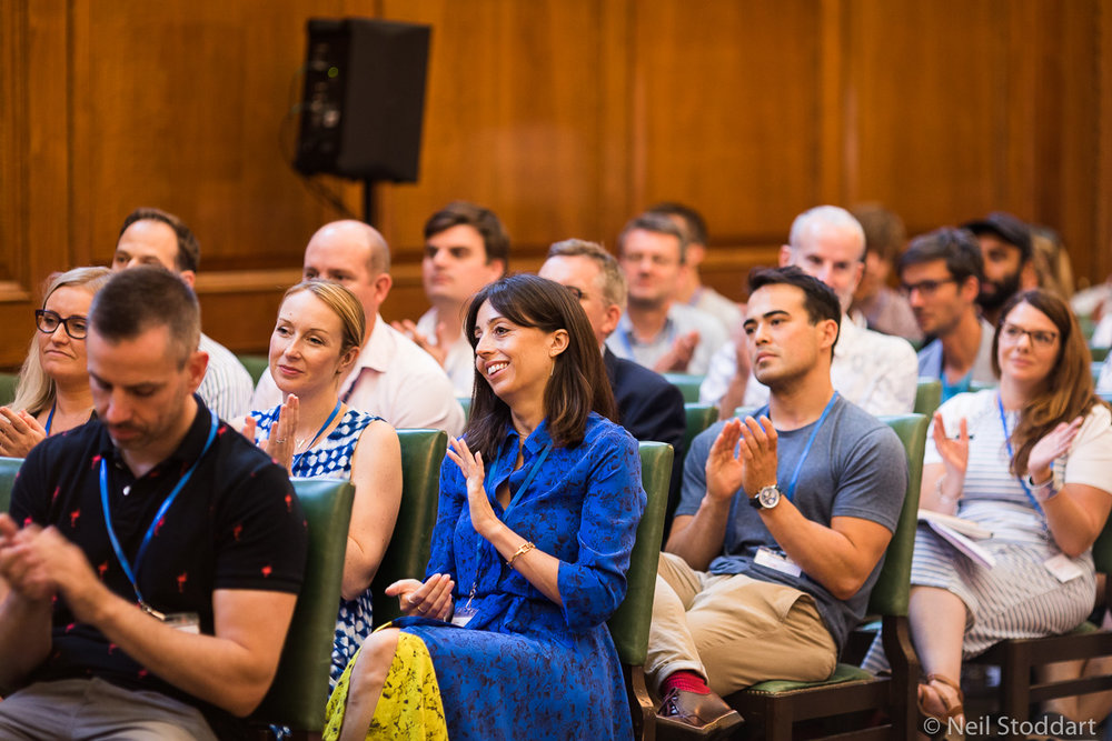 Enjoy some short, interesting talks at the start of the day – then we split up into campfire sessions and workshops across the venue.