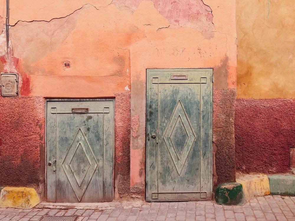 streets of the Medina, Marrakech