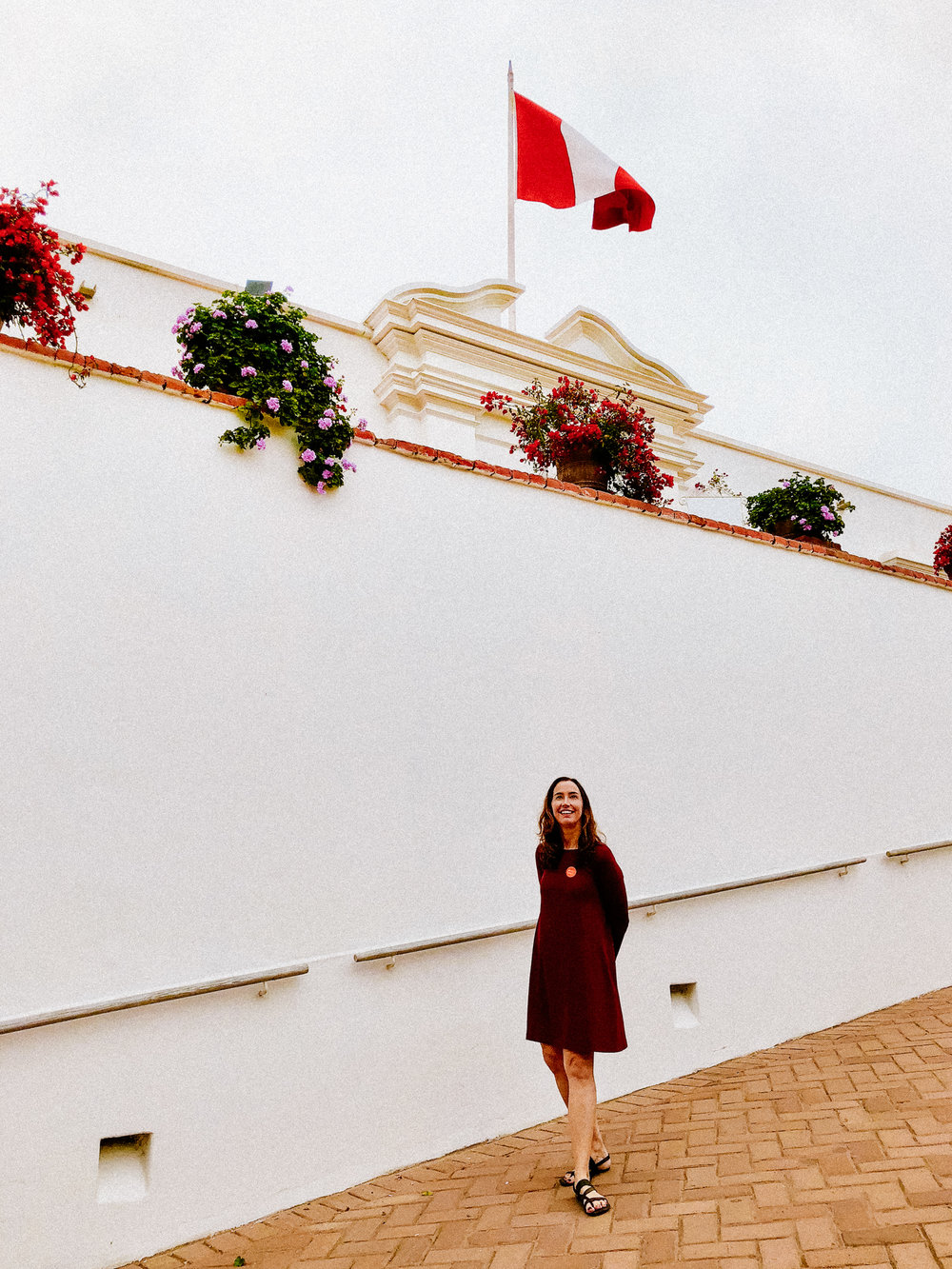 Five days in Lima, Peru. - Packing only a merino swing dress for my travels.