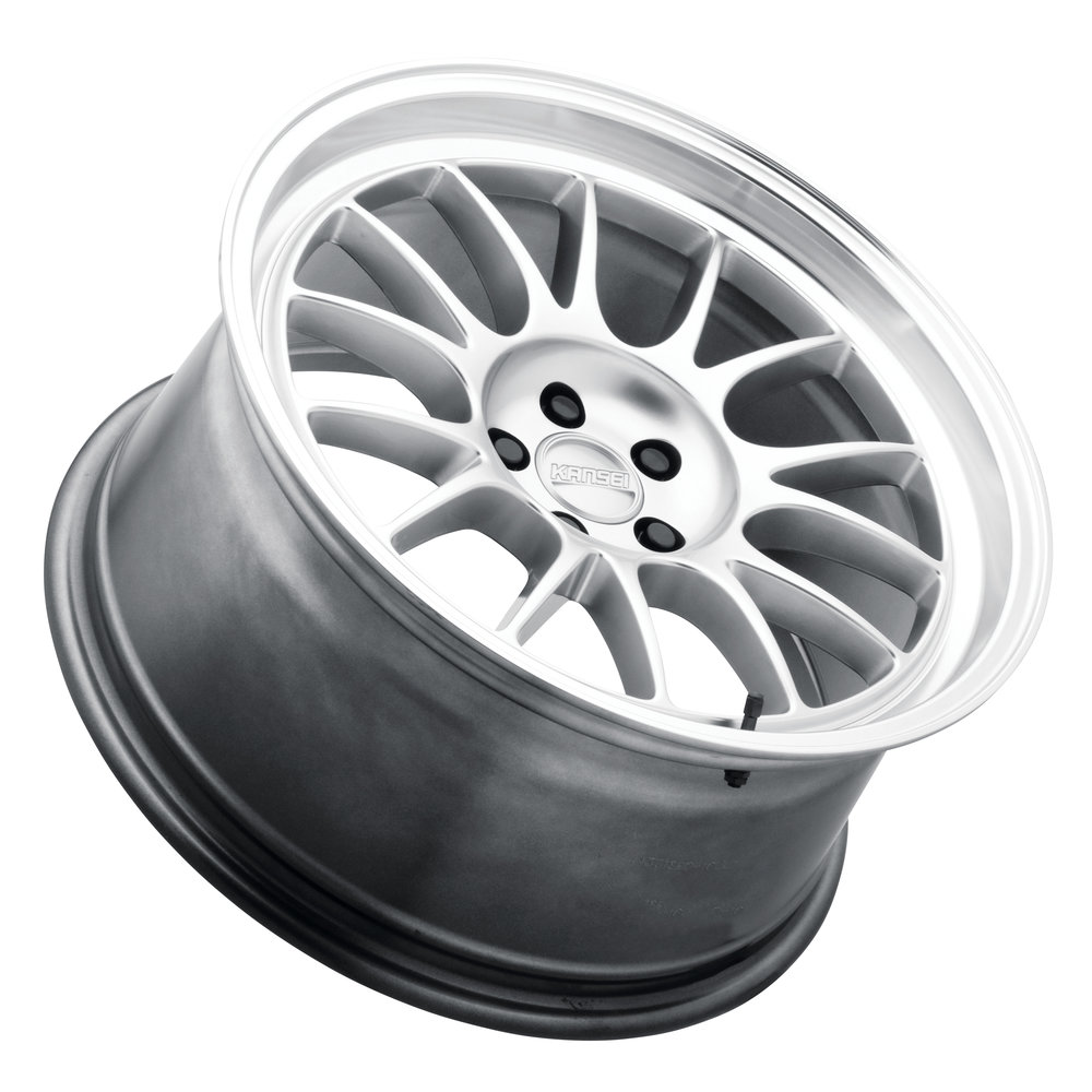 Corsa - 18x9 - Hyper silver w/ Polished Lip.