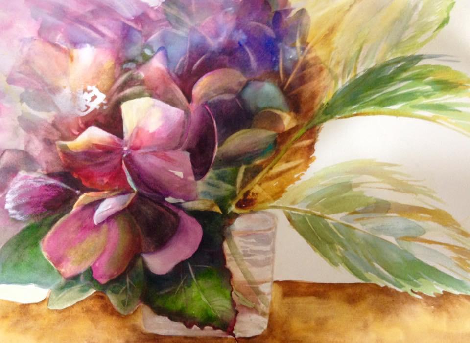 Drama Queen - watercolor