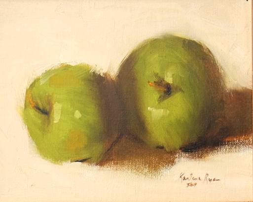 Apple Pair - oil