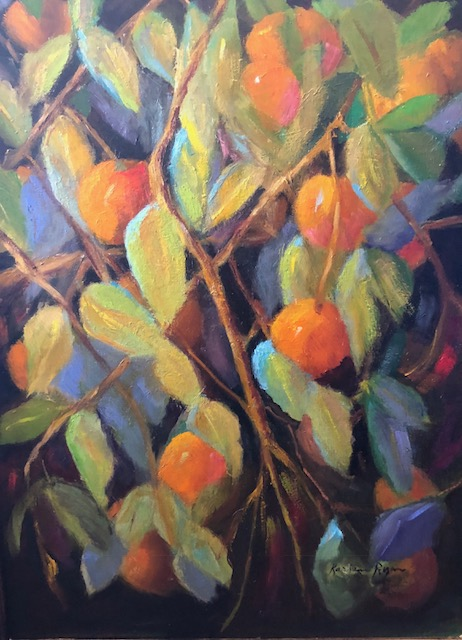 Featured Oranges - oil