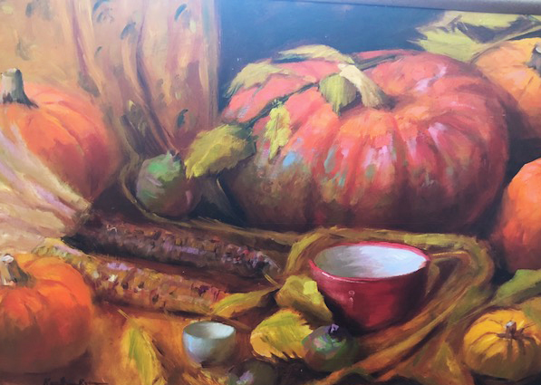 Pumpkin Medley - oil