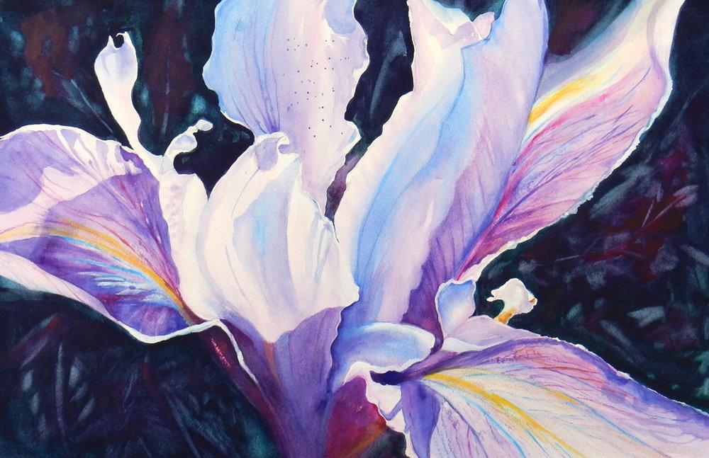 Free Spirit - watercolor